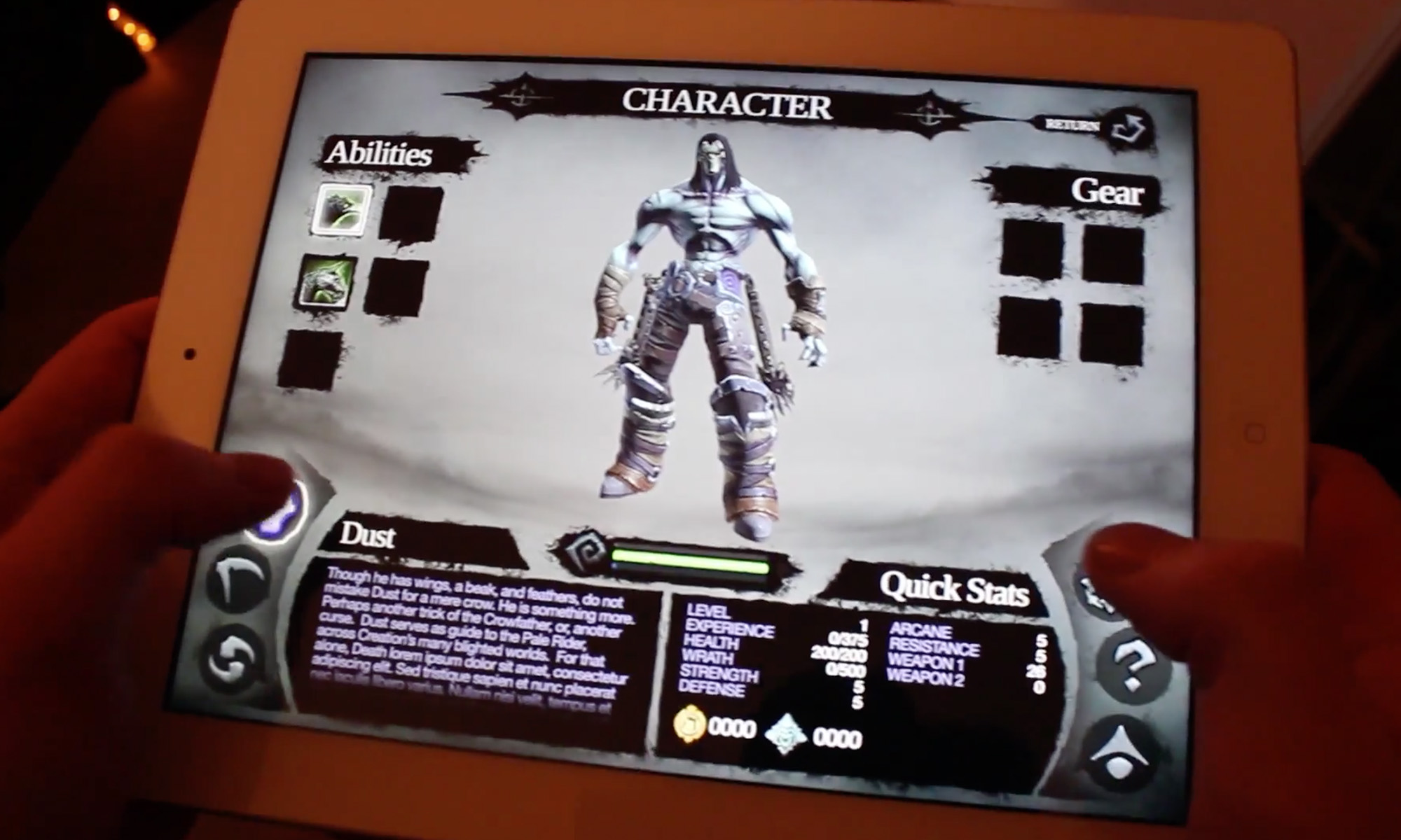 Darksiders 2 for iPad