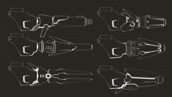 VAST - Behind the Scenes - Arm Cannon Concepts