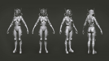 VAST - Behind the Scenes - Yori (Zbrush)
